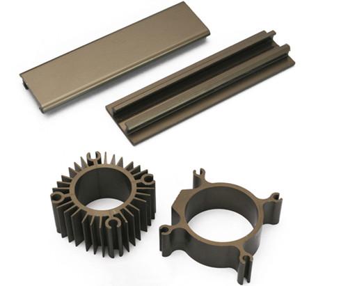 硬質アルマイト 精密機械加工