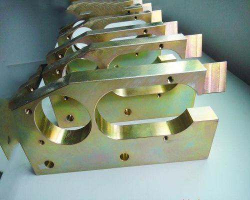 大連CNC加工部品 亜鉛メッキ