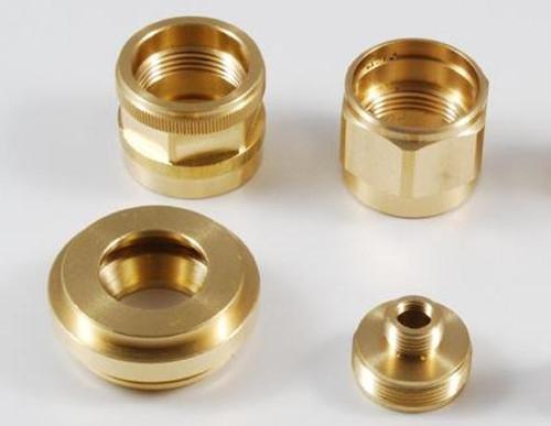 精密真鍮部品 NC旋盤機械加工